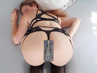 Strip in Strapsen